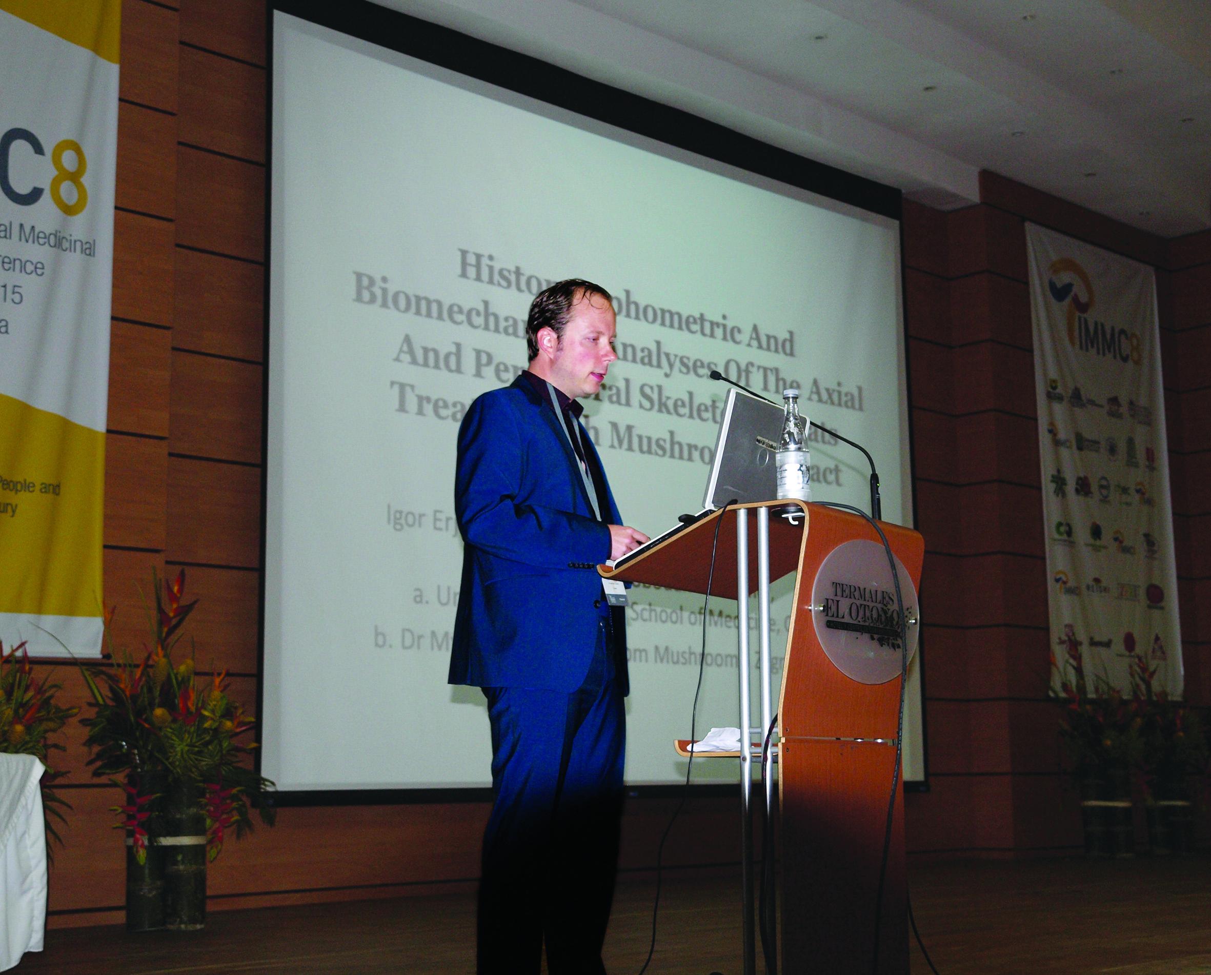 Mr. sc. Boris Jakopović prezentira istraživanje 2015 u Kolumbiji
