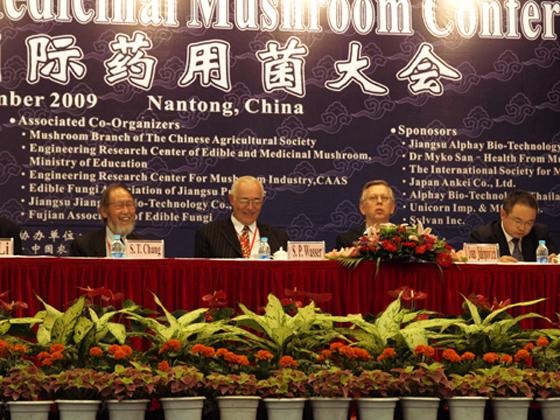 Ivan Jakopović, ST Chang, Solomon Wasser zdravilne gobe konferenca znanstveniki