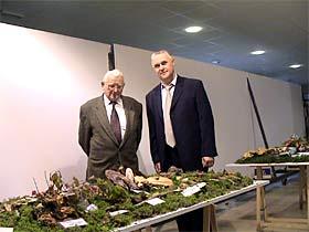 Mladen Strizak i Ivan Forko, mushroom collectors society