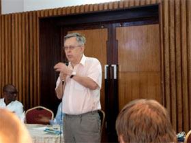 Dr. Ivan Jakopović govori na konferenci o zdravilnih gobah