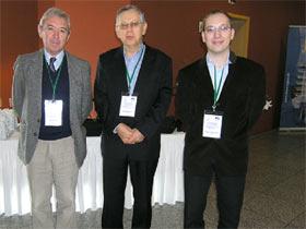 konferencija o gljivama John Buswell, Ivan Jakopović i Neven Jakopović