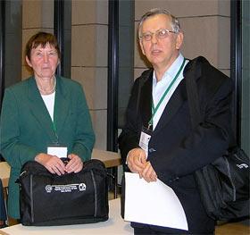 Dr. Ivan Jakopović in prof. Ulrike Lindequist raziskovalci zdravilnih gob