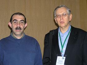 znanstveniki zdravilne gobe Ivan Jakopović in Gerardo Mata