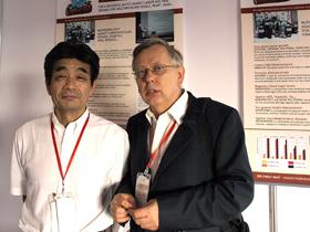 istraživač koji je otkrio djelovanje Hericium erinaceus ljekovite gljive protiv neurodegenerativnih bolesti prof. Kawagishi sa dr. Ivanom Jakopovićem