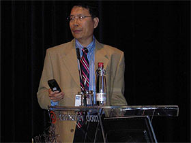 B.B. Yang at the 4th International Medicinal Mushroom Conference in Slovenia